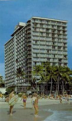 The Outrigger Hotel - Waikiki, Hawaii HI Postcard