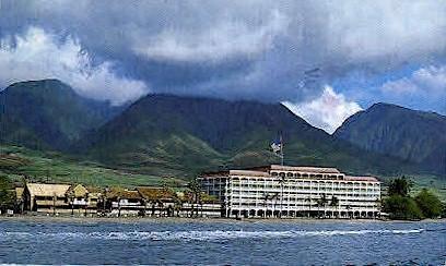 Lahaina Shores Hotel - Maui, Hawaii HI Postcard