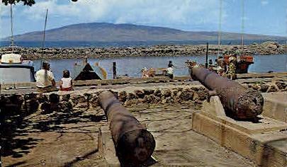 Cannons - Lahaina, Hawaii HI Postcard