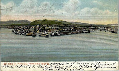 # 80 Harbor - Honolulu, Hawaii HI Postcard