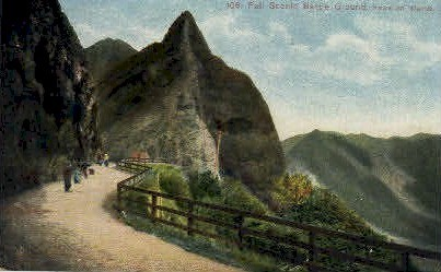 # 106 Pali Scenic Battle Ground - Hawaiian Islands Postcards, Hawaii HI Postcard