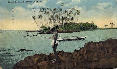Cocoanut Island - Hawaiian Islands Postcards, Hawaii HI Postcard