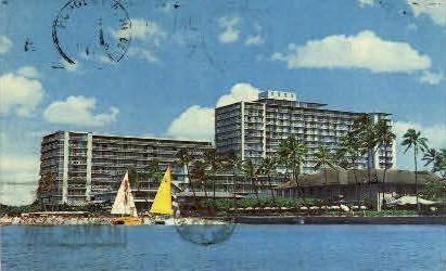 Reef Hotel - Waikiki, Hawaii HI Postcard