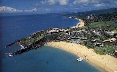 Sheraton-Maui - Hawaii HI Postcard