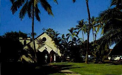 Holy Innocents' Episcopal Church - Lahaina, Hawaii HI Postcard