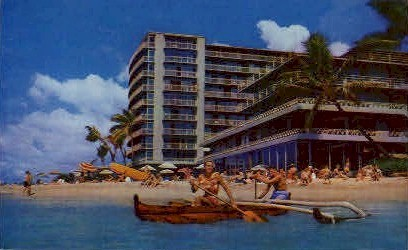 The Reef Hotel - Waikiki, Hawaii HI Postcard