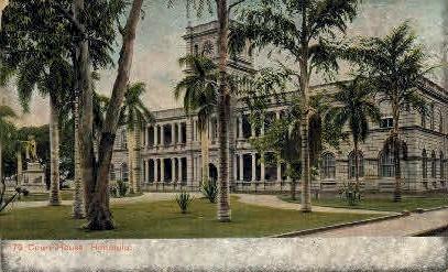# 76 Court House - Honolulu, Hawaii HI Postcard