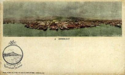 # 8  - Honolulu, Hawaii HI Postcard