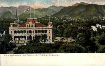 # 69 Government Building - Honolulu, Hawaii HI Postcard