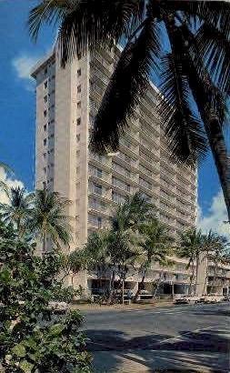 The Waikiki Surf Hotels - Hawaii HI Postcard