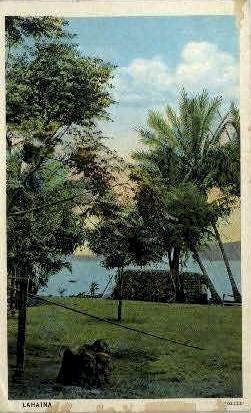 Lahaina, Hawaii, HI Postcard