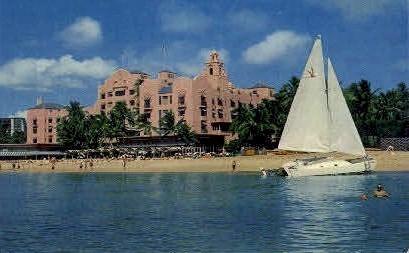 Royal Hawaiian Hotel - Waikiki Postcard