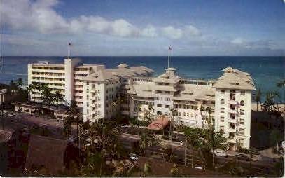 Moana & Surf Rider Hotels - Waikiki, Hawaii HI Postcard
