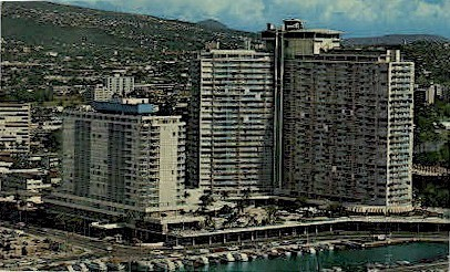 Ilikai Hotel - Waikiki, Hawaii HI Postcard
