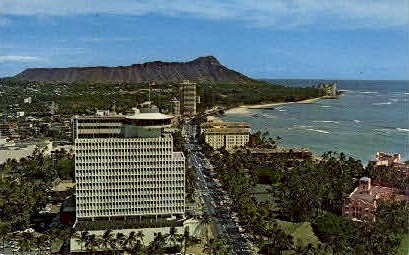 Top of Waikiki - Hawaii HI Postcard