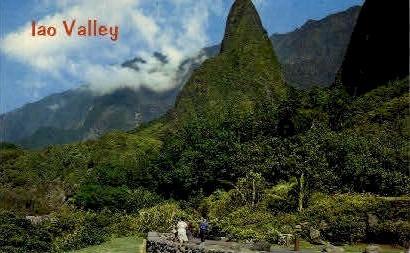 Iao Valley, Wailuku - Maui, Hawaii HI Postcard