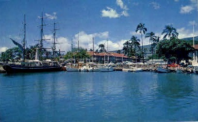 Lahaina Harbor - Maui, Hawaii HI Postcard
