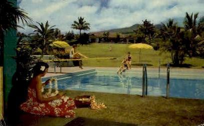 Hotel Hana-Maui - Hawaii HI Postcard