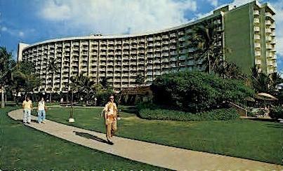 Maui Surf Hotel - Hawaii HI Postcard