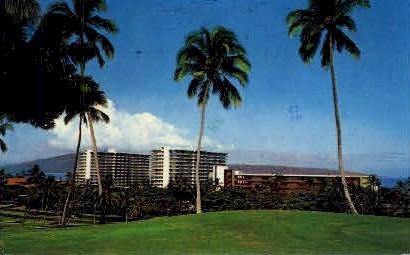 The Whaler & Kaanapali Hotel - Maui, Hawaii HI Postcard