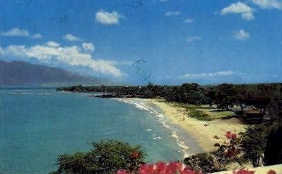 Kamaole Beach Park - Maui, Hawaii HI Postcard