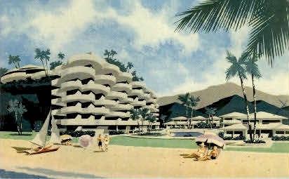Sheraton-Maui Hotel, Lahaina - Hawaii HI Postcard