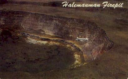 Halemaumau Firepit - Kilauea, Hawaii HI Postcard
