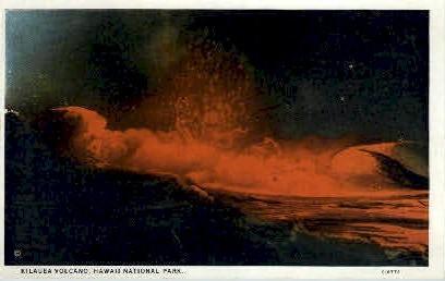 Kilauea Volcano - Hawaii National Park Postcards, Hawaii HI Postcard