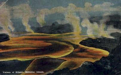 Volcano - Kilauea, Hawaii HI Postcard