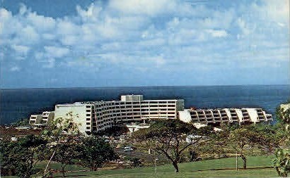Kona Surf Hotel - Hawaii HI Postcard