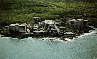 Kona Hilton - Kona Coast, Hawaii HI Postcard