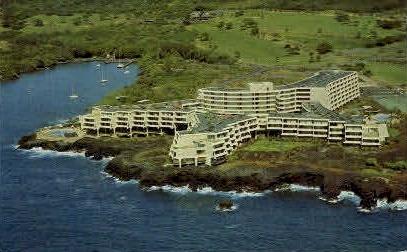 Kona Surf   - Keauhou Bay, Hawaii HI Postcard