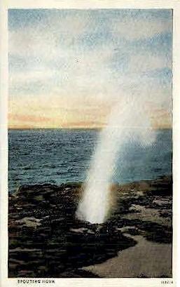 Spouting Horn - Koloa, Hawaii HI Postcard