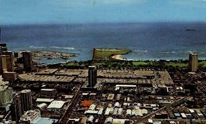 Ala Moana Shopping Center - Hawaii HI Postcard