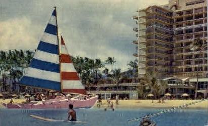 Hilton Hawaiian Village Hotel - Waikiki Postcard