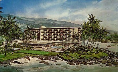 Keauhou Beach Hotel - Hawaii HI Postcard