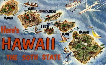 Hawaii, Hawaii, HI - Hawaii Postcards Postcard
