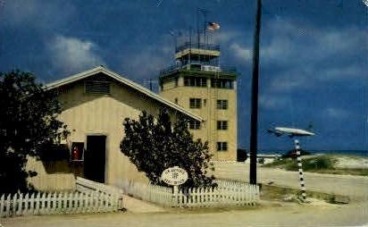 Post Office, Tower - Johnston Island, Hawaii HI Postcard
