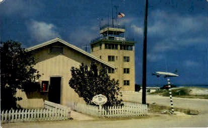C-54 on Take off - Johnston Island, Hawaii HI Postcard