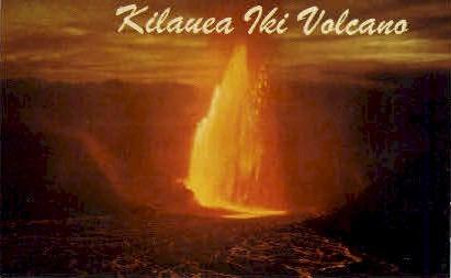 Kilauea Iki Volcano - Hawaii National Park Postcards, Hawaii HI Postcard