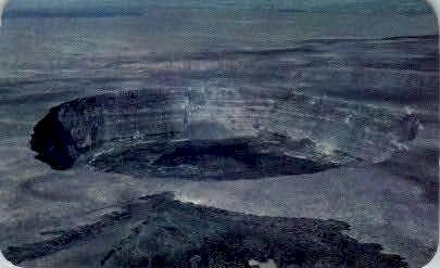 Halemaumau Crater - Hawaii HI Postcard
