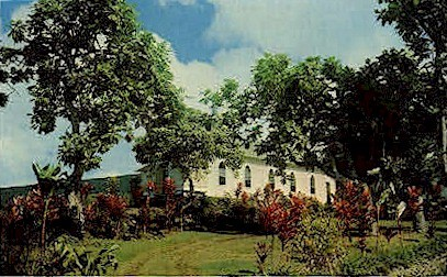 St. Benedict's Catholic Church - Kona, Hawaii HI Postcard