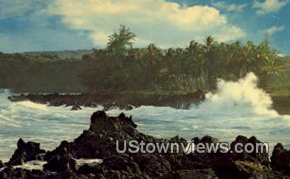 Keanae Peninsula - Maui, Hawaii HI Postcard