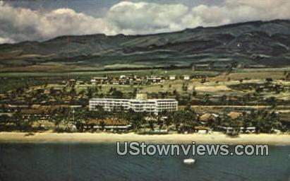 Maui Hilton - Hawaii HI Postcard