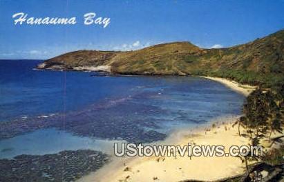 Hanauma Bay, Hawaii, HI, Postcard