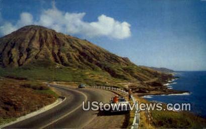 Koko Crater - Waikiki, Hawaii HI Postcard