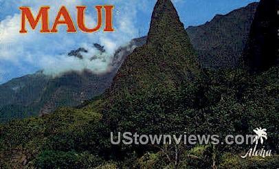 Maui, Hawaii, HI, Postcard