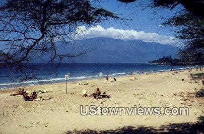 Kamaole Beach 1 - Maui, Hawaii HI Postcard
