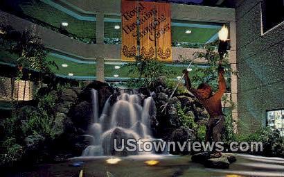 Royal Hawaiian Shopping Center - Waikiki Postcard