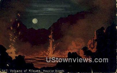 Volcano of Kilauea - Hawaiian Islands Postcards, Hawaii HI Postcard